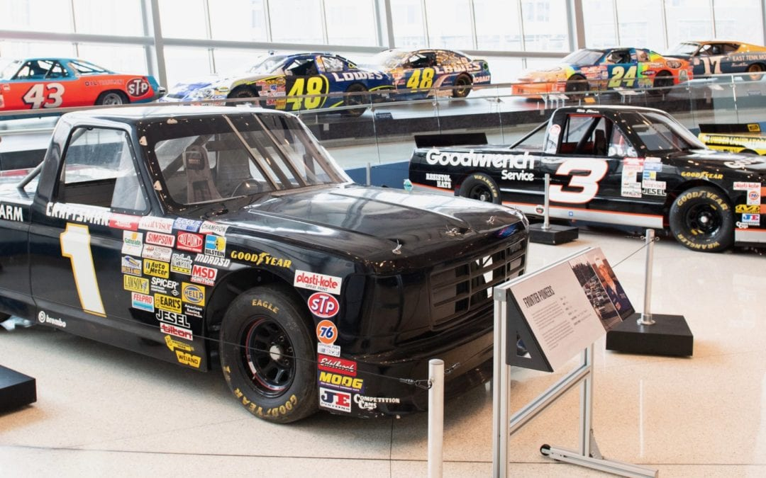 New Exhibit at NASCAR Hall of Fame and more exciting driving experiences